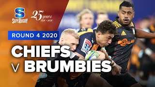 Chiefs v Brumbies Rd.4 2020 Super rugby video highlights | Super Rugby Video Highlights