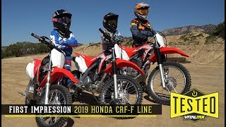 1. Big Changes To The 2019 Honda CRF-Fs