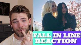 FALL IN LINE MUSIC VIDEO REACTION (Christina Aguilera ft. Demi Lovato)