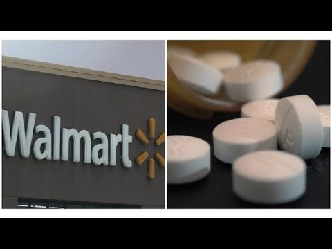 Walmart changing prescription policy, hopes to curb opioid abuse
