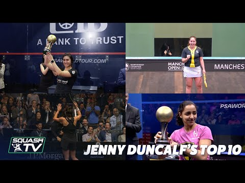 Squash: Jenny Duncalf's Top 10 Women's Matches