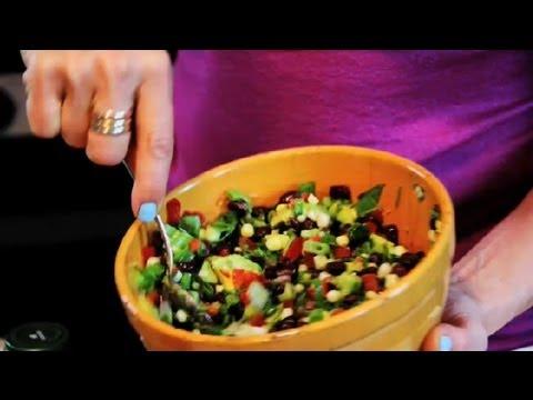 Corn, Avocado & Red Pepper Salad : Avocado Recipes
