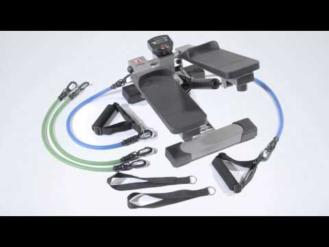 Stamina InStride Pro Electronic Stepper - Great Workout Companion for Small Space