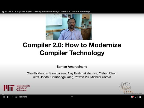 Compiler 2.0: Using Machine Learning to Modernize Compiler Technology