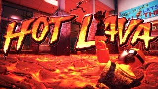 Hot Lava - Parkour Speed Running Craziness! - The Floor Is Lava - Hot Lava Gameplay