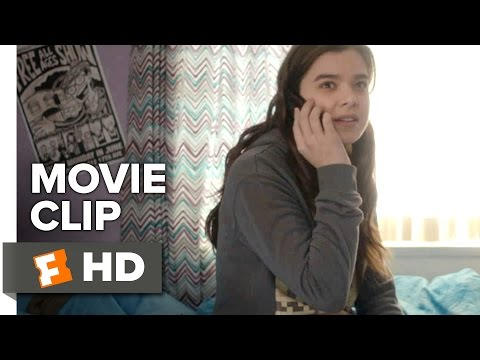 The Edge of Seventeen Movie CLIP - Swimming Pool (2016) - Hailee Steinfeld Movie
