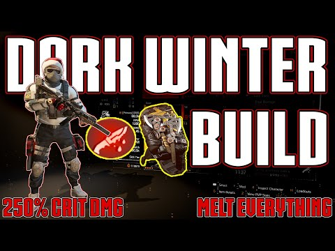 The Division 2 | This Build Melts Legendary Missions!! | The Dark Winter Is Back!! | Best PVE Build?