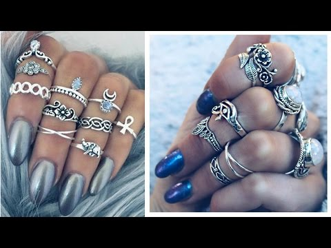 UNIQUE DESIGN FINGER RINGS - LATEST FASHION RINGS