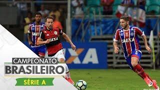 Com gol de Berrío, o Flamengo venceu o Bahia na Itaipava Arena Fonte Nova em partida válida pela décima rodada do Brasileirão. Esporte Interativo nas Redes S...