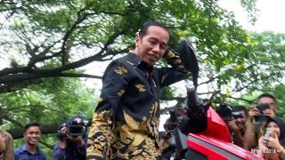 Video Jajal Motor Listrik Gesits di Istana, Presiden Jokowi: Kalau Sudah Produksi Saya Pembeli Pertama MP3, 3GP, MP4, WEBM, AVI, FLV Maret 2019