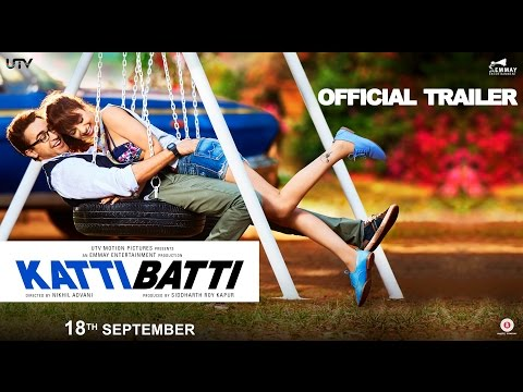 Katti Batti Trailer  Imran Khan & Kangana Ranaut  In Cinemas Sept.18