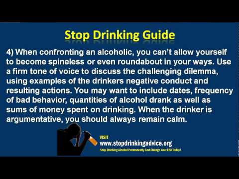 How To Confront Someone With An Alcohol Addiction
