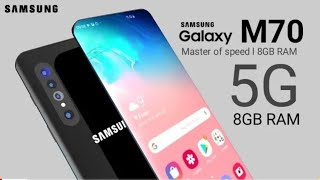 Samsung Galaxy M70 - 5G, SnapDragon 710, 48MP Triple Camera, 4500 mAh, Indisplay Fingerprint