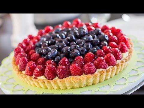 Simple Fruit Tart