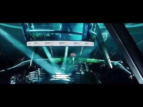Real steel atom vs Zeus round 1 HD)
