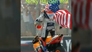 R.I.P Nicky Hayden 69, Peace in Heaven ,1981-2017, Motorcycle Racing has lost a legend. peace in heaven Nick.