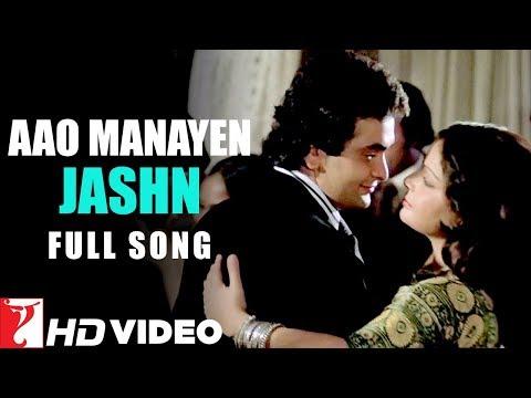 Aao Manayen Jashn | Full Song | Doosara Aadmi | Rishi Kapoor, Neetu | Kishore Kumar, Lata Mangeshkar