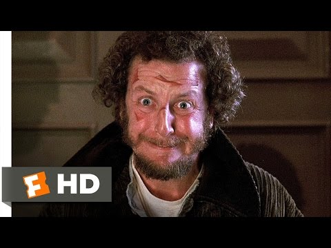 Home Alone 2: Lost in New York (1992) - Staple Gun Doorknob Scene (3/5)   Movieclips