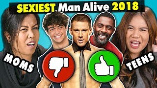 Video Moms & Daughters React To The Sexiest Men Alive 2018 MP3, 3GP, MP4, WEBM, AVI, FLV Desember 2018