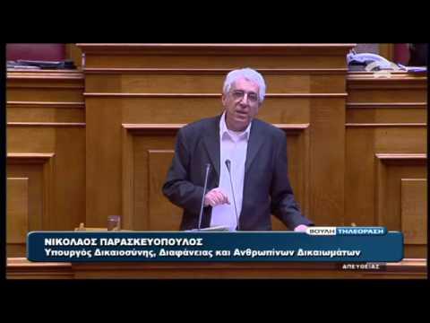 Ν. Παρασκευόπουλος: Παράνομη η δανειοδότηση που ξεπερνούσε την κρατική χρηματοδότηση