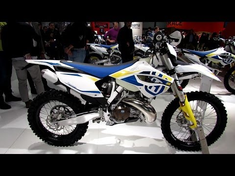 2014 Husqvarna TE 300 Walkaround - 2013 EICMA Milan Motorcycle Exhibition