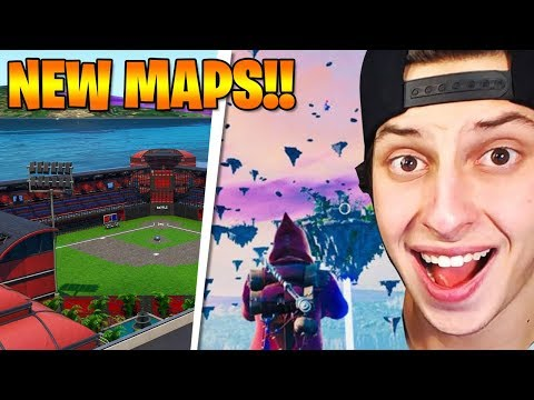 5 BEST *NEW* FORTNITE CREATIVE MAPS!!
