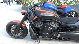 7. Rare Harley Davidson by Porsche - Burnouts and Brutal Sounds