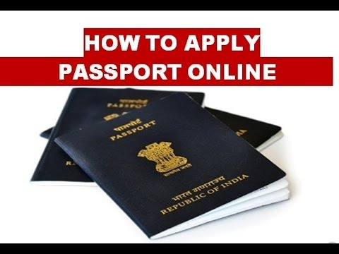 how to apply for passport online step by step procedure (in hindi)