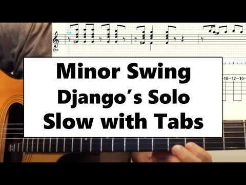 Minor Swing solo slooooowwww - DjangoBooks Forum