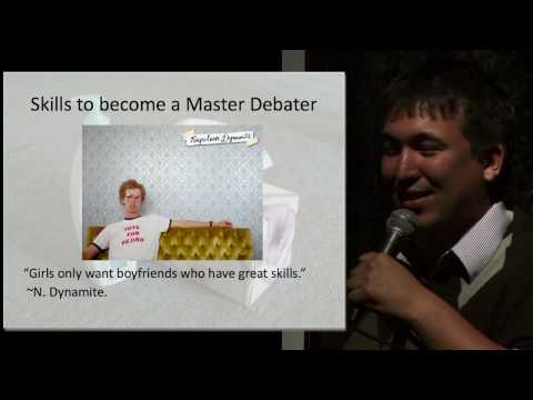 How to master debate