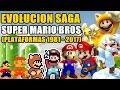 Evoluci n Super Mario Bros solo Plataformas 1981 2017