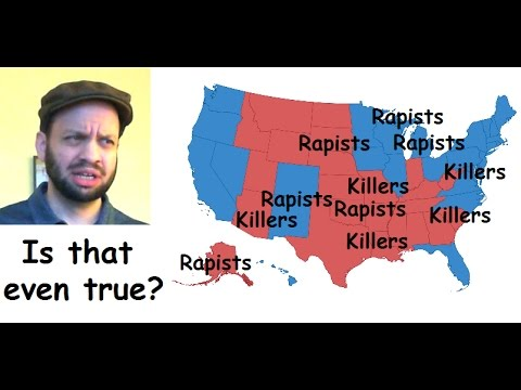 Why do blue states have higher crime and poverty than red states? 🔫🐎
