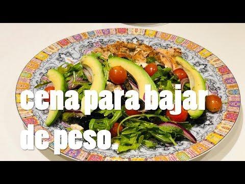 Dietas para adelgazar - Cena PARA BAJAR DE PESO - PARTE 1 - Claudio Us