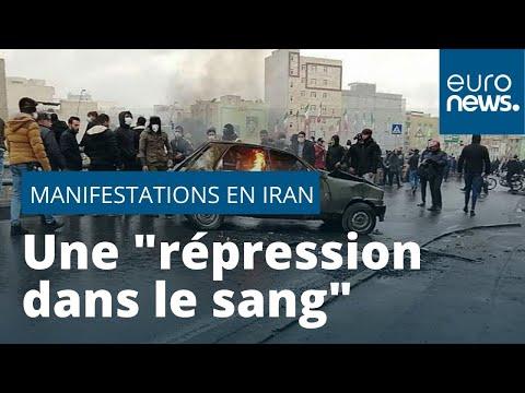 Répression des manifestations en Iran, au moins une centaine de morts selon Amnesty