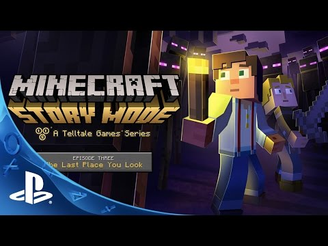 Minecraft: Story Mode - Episode 3 Trailer | PS4, PS3