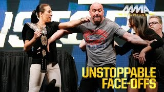 Video UFC Unstoppable Press Conference Staredowns MP3, 3GP, MP4, WEBM, AVI, FLV Desember 2018