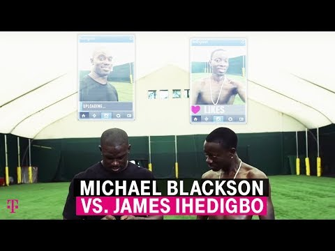 T-Mobile | Comedian Michael Blackson vs. Ravens' Safety James Ihedigbo