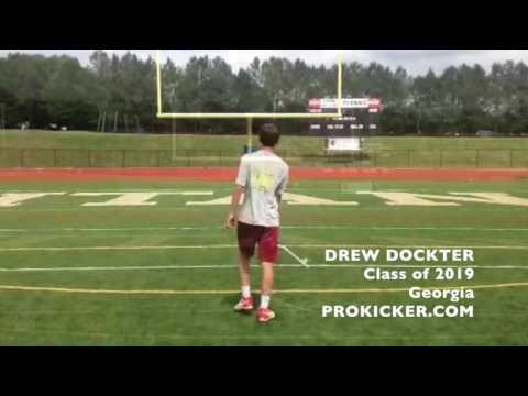 Drew Dockter, Prokicker.com Kicker Punter, Class of 2019