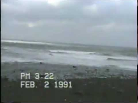 Feb 2, 1991 - Meteghan Center Shoreline - Nova Scotia, Canada