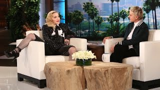 Madonna On Her Onstage Fall