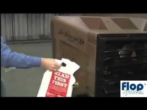 Schładzacz powietrza ewaporacyjny - klimatyzer - BryzaCOOL 1600