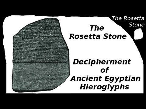 an analysis of the deciphering of the hieroglyphs on the rosetta stone The rosetta stone has 38 ratings and 10 reviews it then goes to explain how the engraved text led to clues in deciphering the egyptian hieroglyphs.