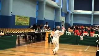 冷先鋒弟子陳千萬獲2010年全港公開內家拳錦標賽耆英組男子太極拳優異獎