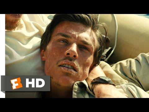 Unbroken (5/10) Movie CLIP - Am I Gonna Die? (2014) HD