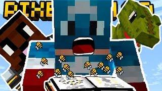 CAPTAIN AMERICA BEE SPELL!   Pixel Gun 3D