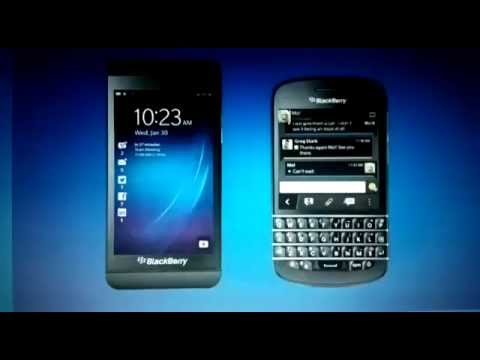 BlackBerry Z10 & Q10 on BB 10 OS Now Official - Video Launch