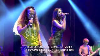"Video KEN AROK SALATIGA 2017 "" GOYANG SENGGOL "" AJI JATINOVA & IDA MP3, 3GP, MP4, WEBM, AVI, FLV November 2017"