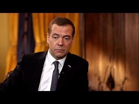 Ο Ντμίτρι Μεντβιέντεφ αποκλειστικά στο euronews