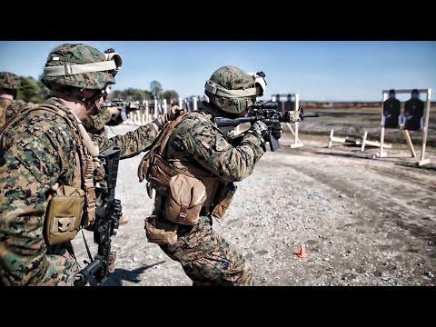 Marines Marksmanship Training • M4 Rifle Range