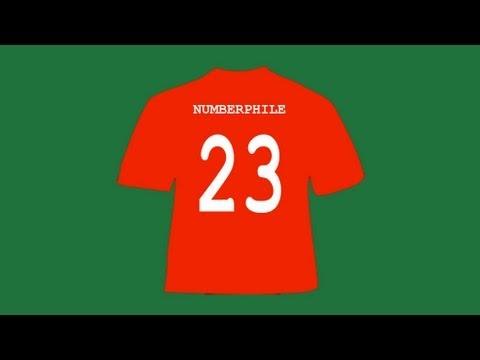 23 und Football Geburtstage - Numberphile